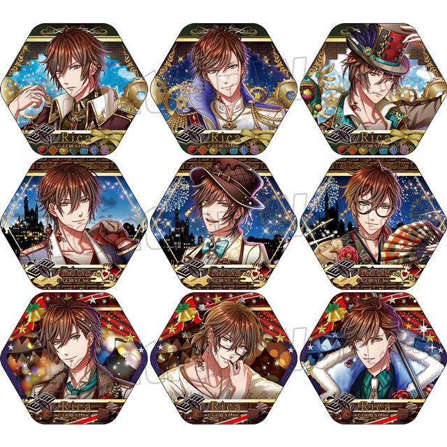 【グッズ】夢王国と眠れる100人の王子様 ピックアップコレクション缶バッジ(リカ)Vol.3 BOX