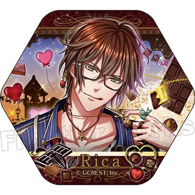 【グッズ】夢王国と眠れる100人の王子様 ピックアップコレクション缶バッジ(リカ)Vol.2 BOX