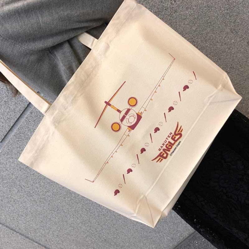 【IBEXオリジナル】 楽天イーグルス・IBEXコラボトートバック&缶バッジセット