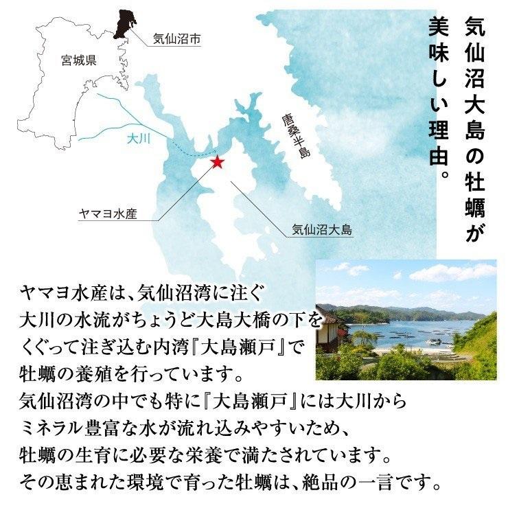 【産地直送/送料込】<ヤマヨ水産>生牡蠣500g