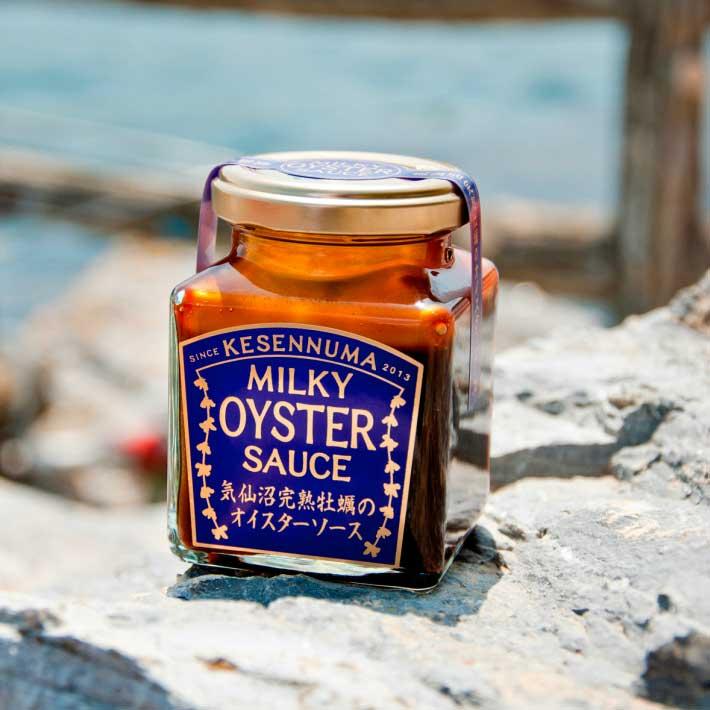 【産地直送/送料込】〈石渡商店〉気仙沼完熟牡蠣のオイスターソース3点セット