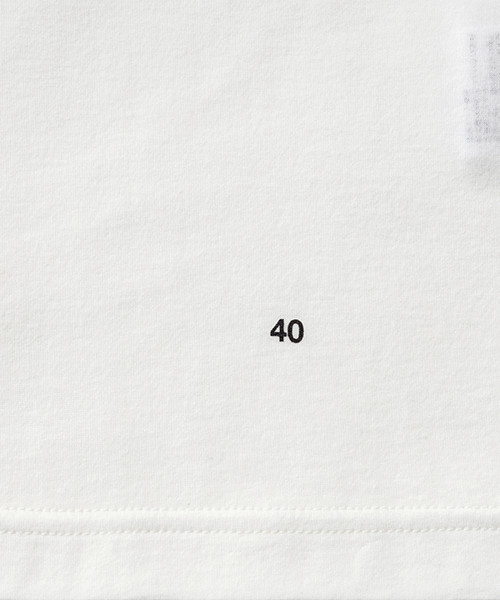 40 NUMBER T-SHIRT
