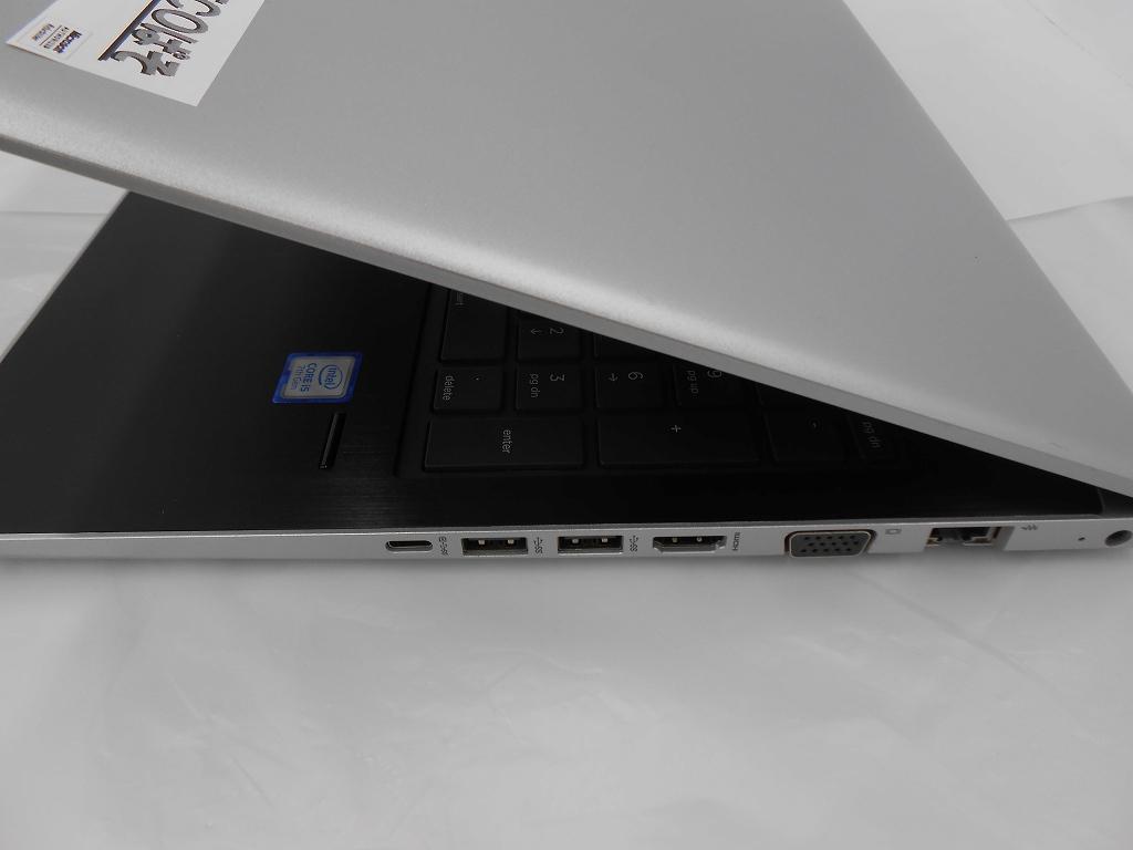 【周年祭】【中古】HP ProBook 450 G5/2018年モデル/Corei5 7200U 2.5GHz/メモリ8GB/SSD256GB/15インチ/Windows10Home【3ヶ月保証】【足立店発送】