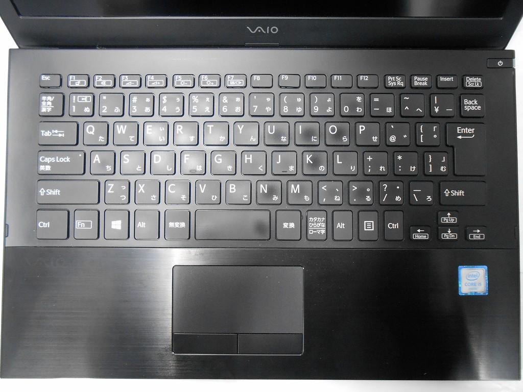 【中古】VAIO S13 VJS131C11N/2016年モデル/Corei5 6200U 2.3GHz/メモリ4GB/SSD256GB/13インチ/Windows10Home【3ヶ月保証】【足立店発送】