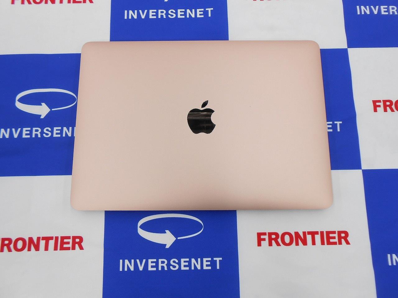 Aランク【決算セール】【中古】 Apple MacBook MRQN2J/A/Core m3 1.2GHz/メモリ8GB/SSD256GB/12インチ/Mac OS X Catalina10.15.4【3ヶ月保証】【足立店発送】