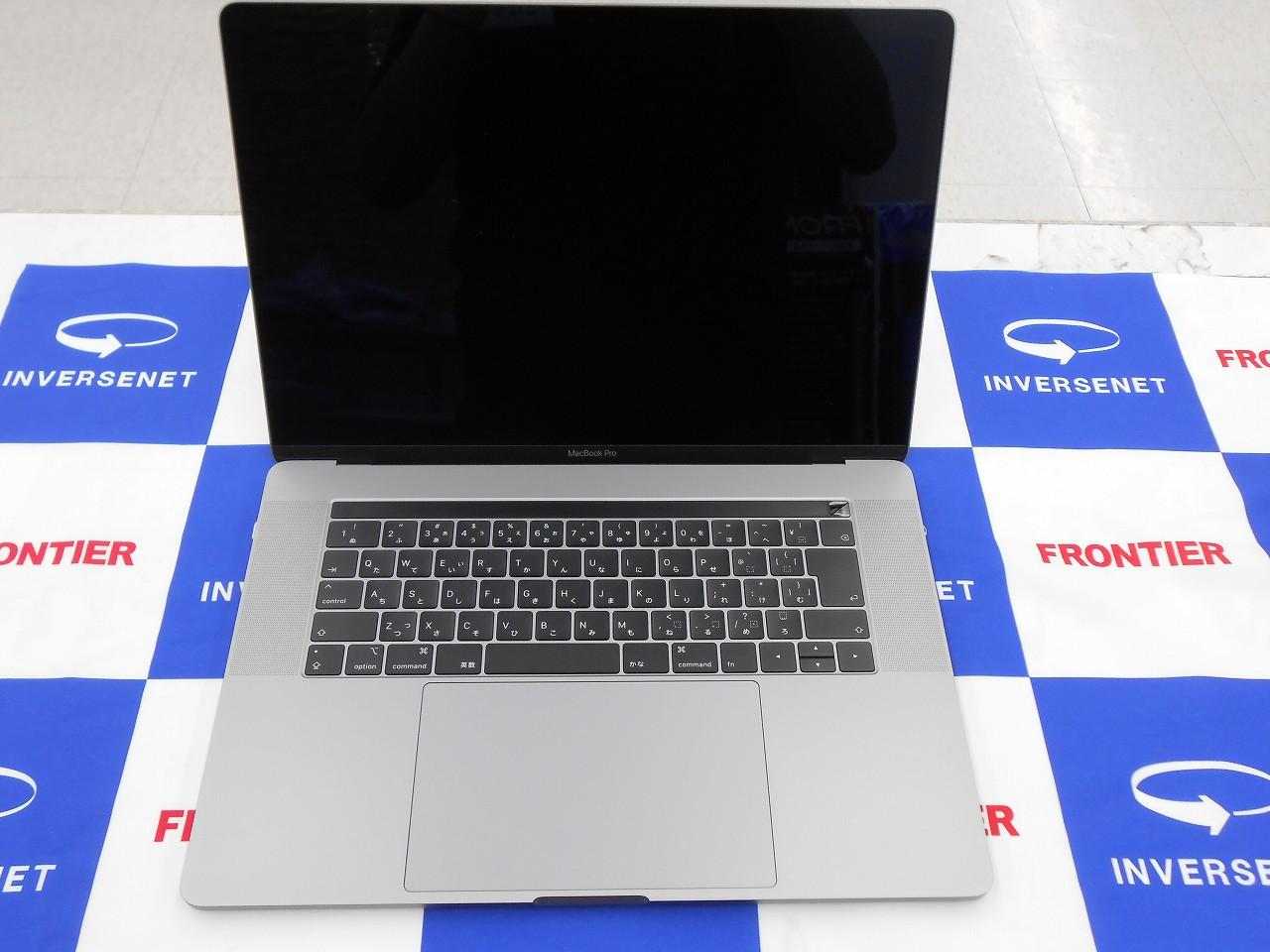 【中古】 Apple MacBookPro MR932J/A/Mid2018/Corei7 2.2GHz/メモリ16GB/SSD256GB/15インチ/Mac OS X Catalina【3ヶ月保証】【足立店発送】