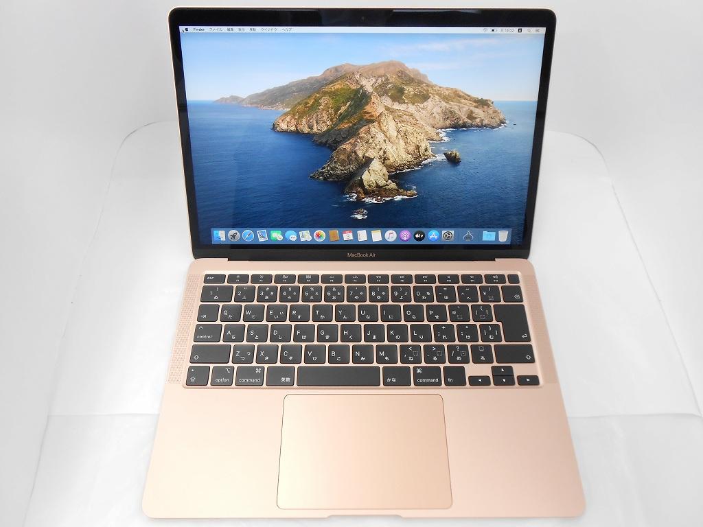 Aランク【中古】 Apple MacBookAir MWTL2J/A /Early2020/Corei3 1.1GHz/メモリ8GB/SSD256GB/13インチ/Mac OS Catalina【3ヶ月保証】【足立店発送】