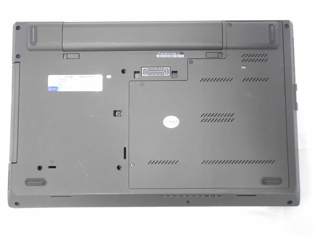 【中古】Lenovo ThinkPad L540/2013年モデル/Corei5 4300U 2.6GHz/メモリ8GB/SSD128GB/15インチ/Windows10Home【1ヶ月保証】【足立店発送】