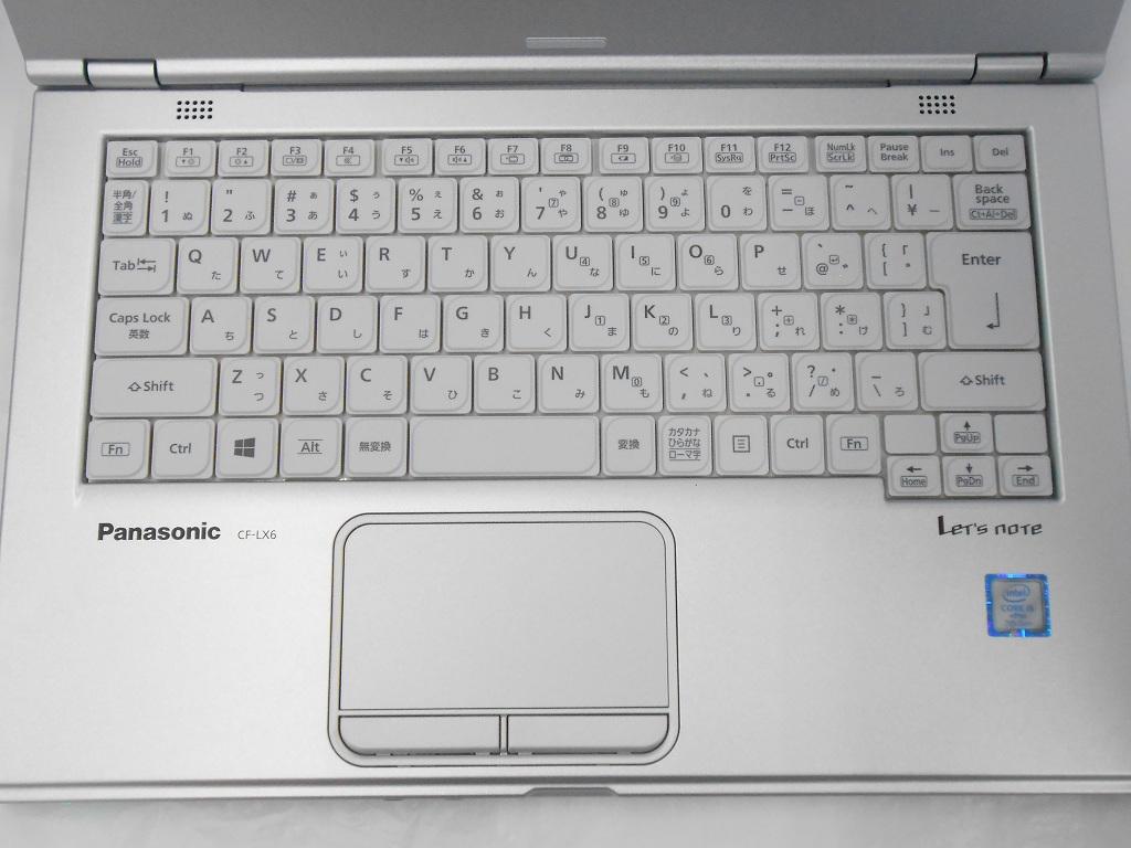 【周年祭】【中古】Panasonic Let'snote CF-LX6/2018年モデル/Corei5 7300U 2.6GHz/メモリ8GB/SSD256GB/14インチ/Windows10Pro【3ヶ月保証】【足立店発送】