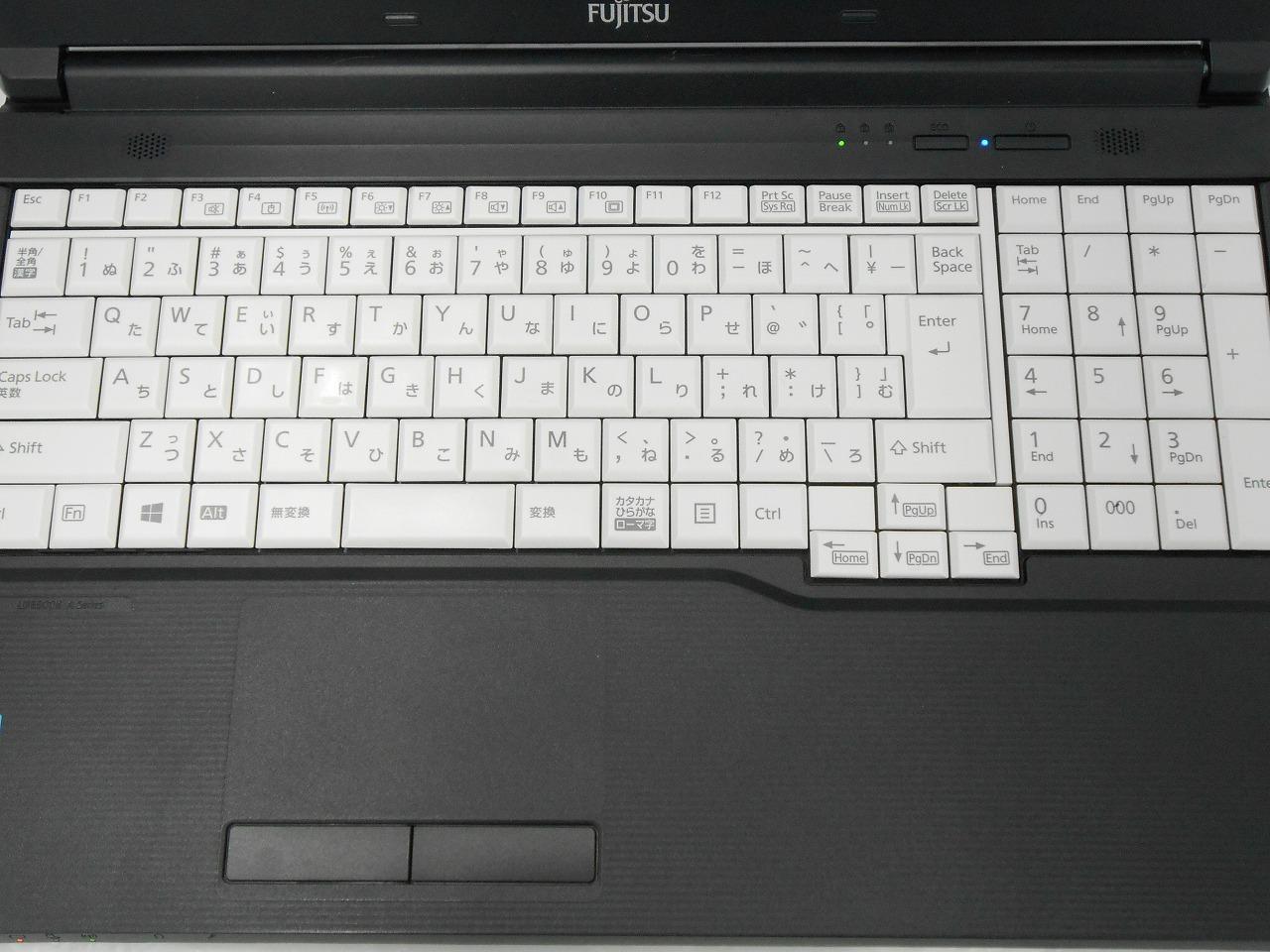 【ASCII掲載品】【中古】 富士通 FUJITSU LIFEBOOK A576/N /2016年モデル/Corei5 6300U 2.4GHz/メモリ8GB/SSD128GB/15インチ/Windows10Home【3ヶ月保証】【足立店発送】