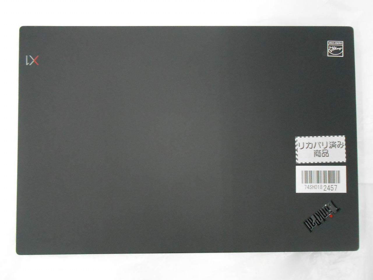 【中古】Lenovo ThinkPad X1 Carbon 7th/2019年モデル/Corei5 8365U 1.6GHz/メモリ8GB/SSD256GB/14インチ/Windows10Pro【3ヶ月保証】【足立店発送】