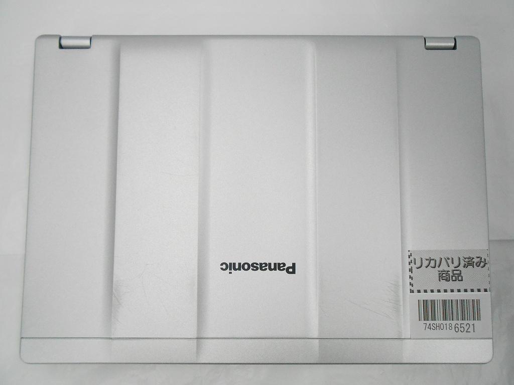 【周年祭】【中古】Panasonic Let'snote CF-SZ5/2016年モデル/Corei3 6100U 2.3GHz/メモリ4GB/HDD320GB/12インチ/Windows10Pro【3ヶ月保証】【足立店発送】