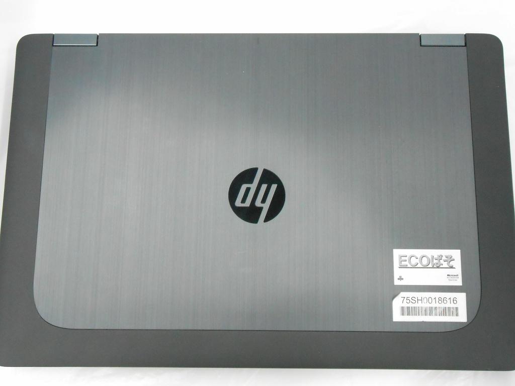 【中古】HP ZBook 15 G2/2014年モデル/Corei7 4810MQ 2.8GHz/メモリ16GB/HDD,SSD1000GB,256GB/15インチ/Windows10Home【3ヶ月保証】【足立店発送】