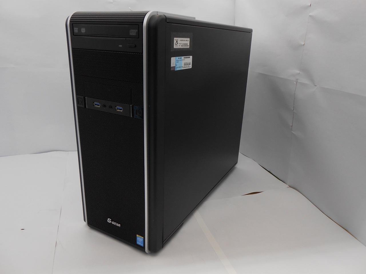 【中古ゲーミング】GA7J-H63/ZE/2014年モデル/Corei7 4790 3.6GHz/メモリ16GB/SATA2000GB/SSD275GB/Windows10Home【3ヶ月保証】【足立店発送】