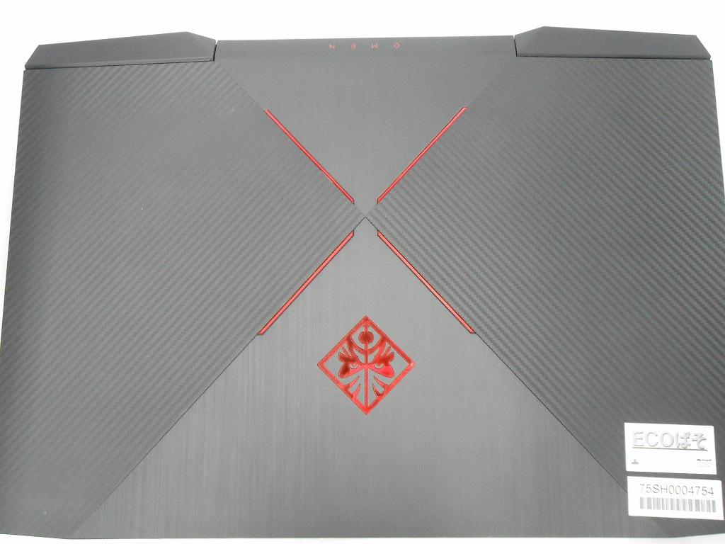 【ゲーミングPC】【中古】HP 17-an011TX/2017年モデル/Corei7 7700HQ 2.8GHz/メモリ16GB/HDD,SSD1000GB,512GB/17インチ/Windows10Home【3ヶ月保証】【足立店発送】