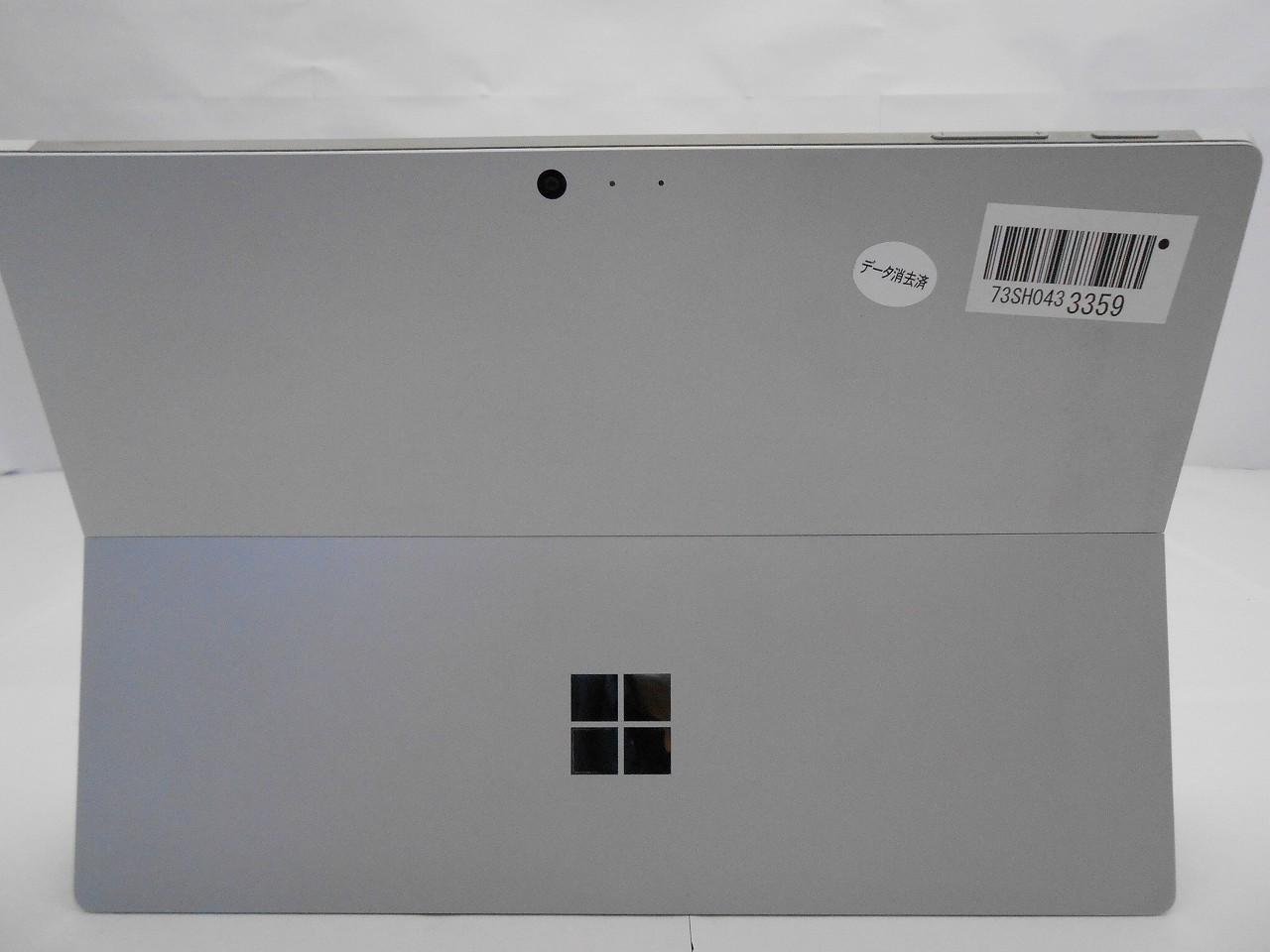 【中古】 【ACアダプタ欠品】Microsoft Surface Pro4/2015年モデル/Corei5 6300U 2.4GHz/メモリ4GB/SSD128GB/12インチ/Windows10Pro【1ヶ月保証】【足立店発送】