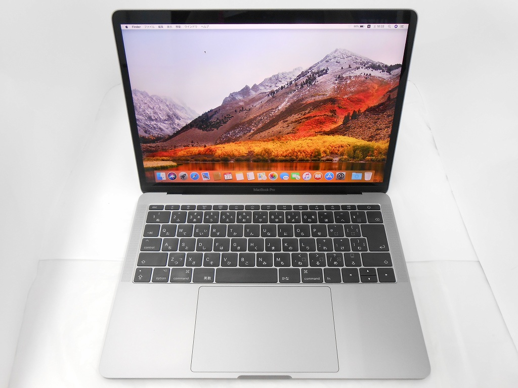 Bランク【中古】 Apple MacBookPro MPXQ2J/A/Mid2017/Corei5 2.3GHz/メモリ8GB/SSD128GB/13インチ/Mac OS X High Sierra【3ヶ月保証】【足立店発送】