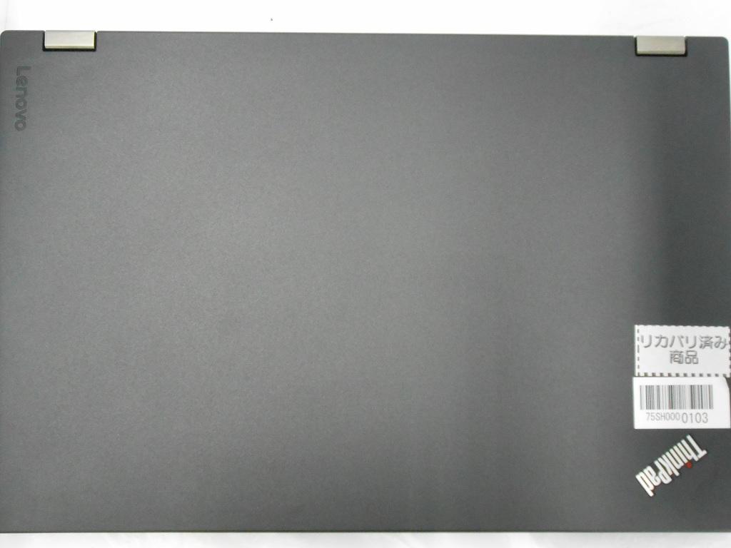 【周年祭】【中古】Lenovo ThinkPad L570/2017年モデル/Corei7 7600U 2.8GHz/メモリ8GB/SSD256GB/15インチ/Windows10Pro【3ヶ月保証】【足立店発送】