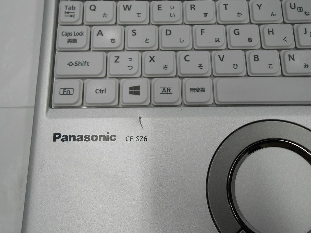 【中古】Panasonic Let'snote CF-SZ6/2017年モデル/Corei5 7300U 2.6GHz/メモリ8GB/SSD256GB/12インチ/Windows10Pro【3ヶ月保証】【足立店発送】