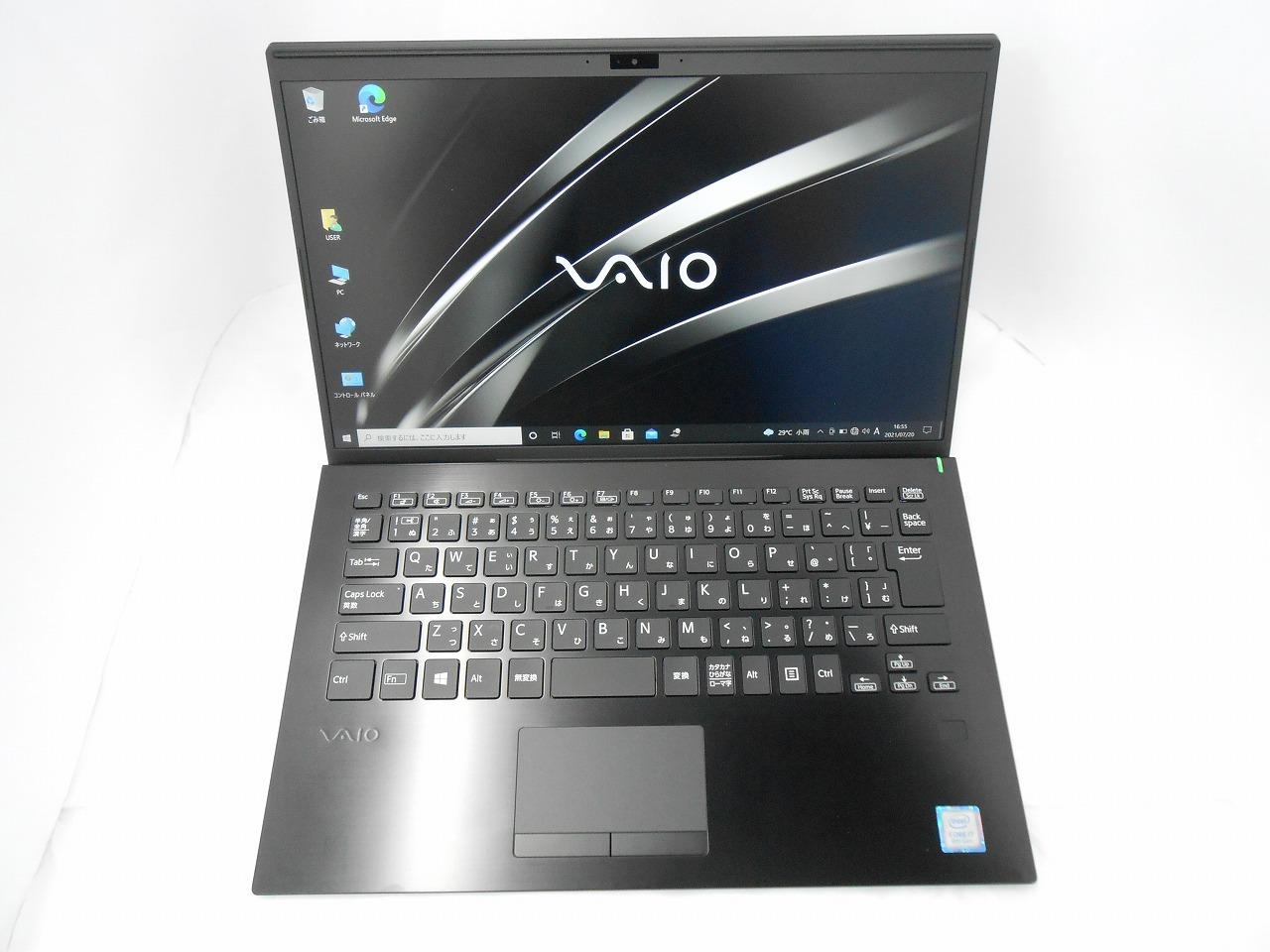 【サマーセール】【中古】VAIO Pro VJPK11C12N /2019年モデル/Corei7 8565U 1.8GHz/メモリ16GB/SSD 256GB/14インチ/Windows10Pro【3ヶ月保証】【足立店発送】