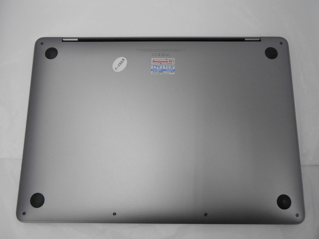 Aランク【中古】 Apple MacBookPro MUHP2J/A/Mid2019/Corei5 1.4GHz/メモリ8GB/SSD256GB/13インチ/Mac OS Mojave【3ヶ月保証】【足立店発送】