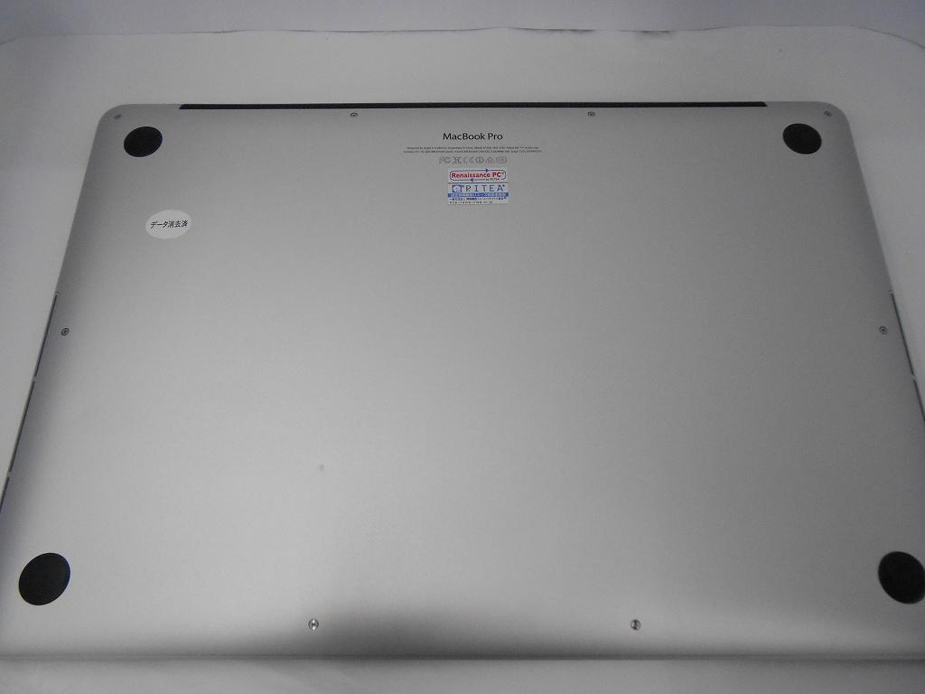Aランク【中古】 Apple MacBookPro ME294J/A/Late2013/Corei7 2.3GHz/メモリ16GB/SSD512GB/15インチ/Mac OS X Mavericks【3ヶ月保証】【足立店発送】