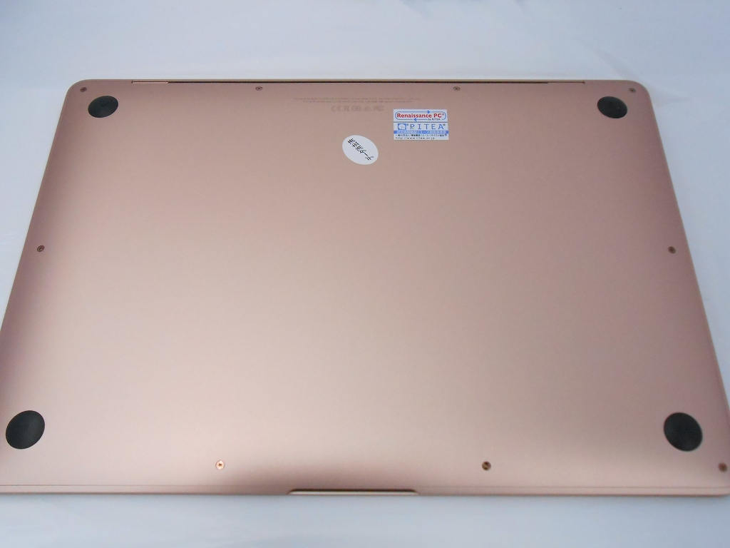 Bランク【中古】 Apple MacBookAir MREE2J/A /Late2018/Corei5 1.6GHz/メモリ8GB/SSD128GB/13インチ/Mac OS Mojave【3ヶ月保証】【足立店発送】