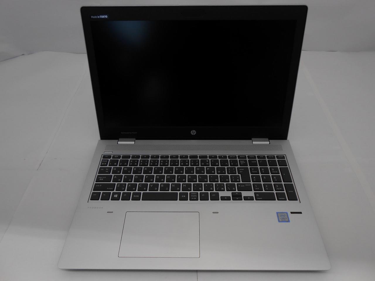 【新品未使用品】HP ProBook 650 G4/2018年モデル/Corei3 8130U 2.2GHz/メモリ16GB/HDD500GB/15インチ/Windows10Home【2024年10月までメーカー保証】【足立店発送】
