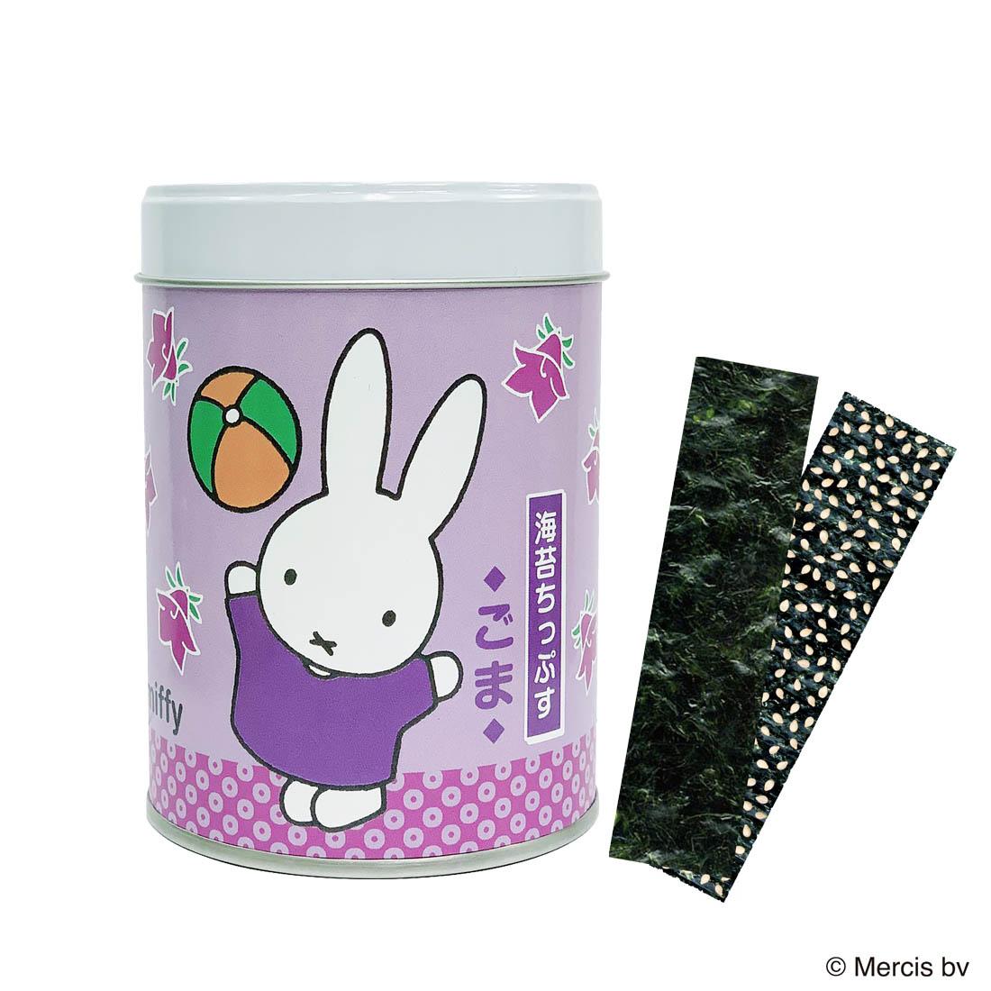 ミッフィー山本海苔店 海苔ちっぷす2缶セット(うめ・ごま)