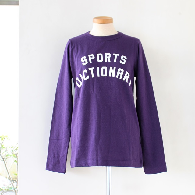 R&D.M.Co- オールドマンズテーラー SPORTS DICTIONARY 長袖Tシャツ(全5色)