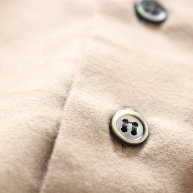 R&D.M.Co- オールドマンズテーラー ライトモールスキンバギーシャツ