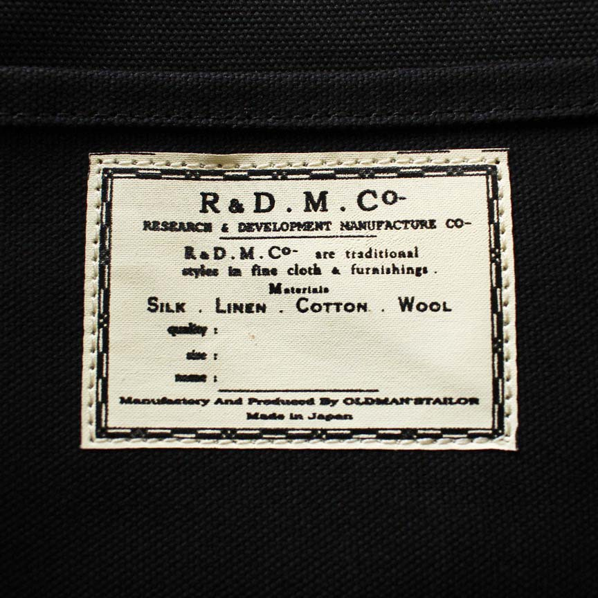 R&D.M.Co- オールドマンズテーラー トートバッグ (L)(定番商品)