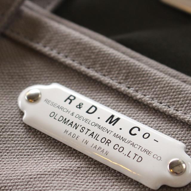 再入荷 R&D.M.Co- オールドマンズテーラー トートバッグ (S)(定番商品)再入荷