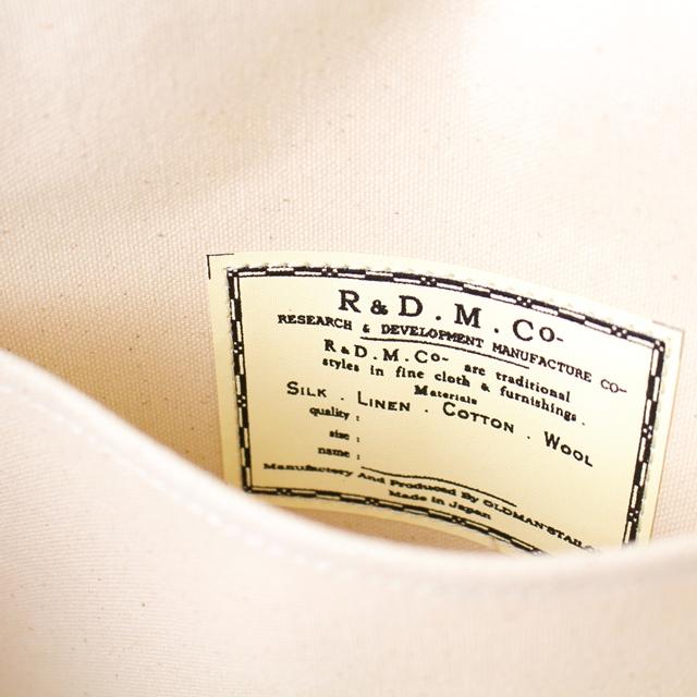 R&D.M.Co- オールドマンズテーラー ヘリンボーンマルシェバッグ(SMALL)