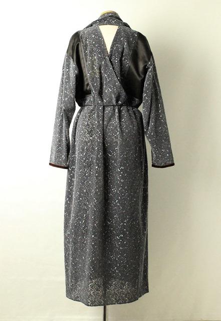 セール30%OFF PONTI :ポンティ FLOCK PRINT  SCARF DRESS