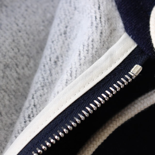 R&D.M.Co- オールドマンズテーラー裏起毛ジップアップパーカー (全3色)(定番商品)
