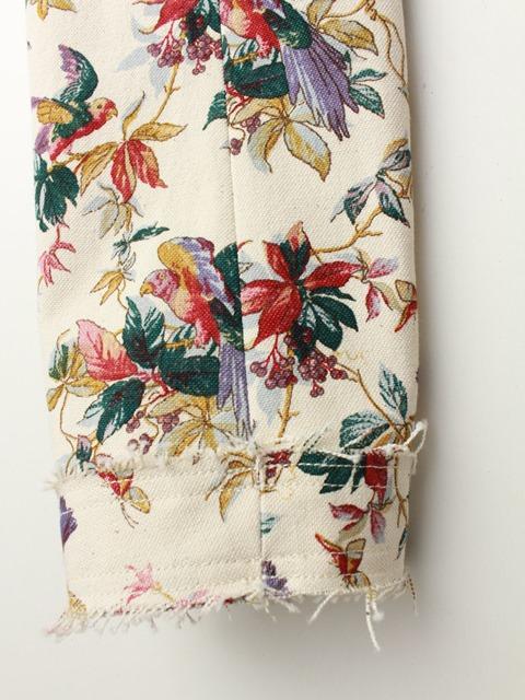 "NATIVE VILLAGE ネイティブヴィレッジ ""flower bird""ジャケット 31181-03203"