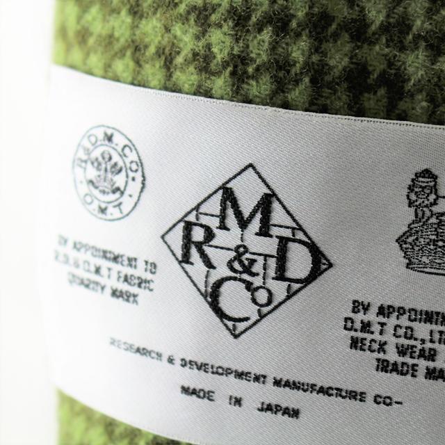 R&D.M.Co- オールドマンズテーラー ガンクラブブランケット
