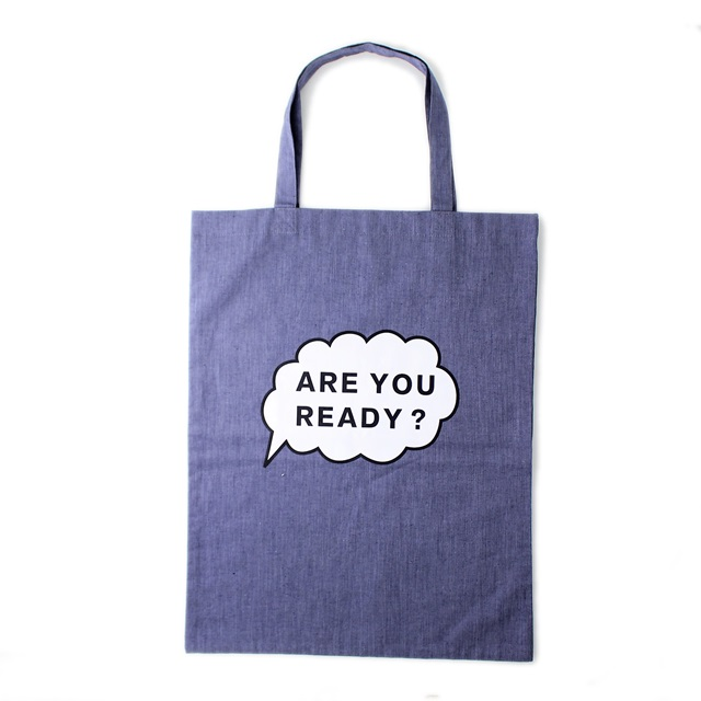 R&D.M.Co- オールドマンズテーラー Are you ready ?  トートバッグ