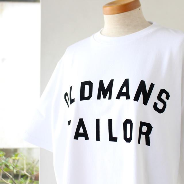 再入荷 R&D.M.Co- オールドマンズテーラー OMT ロゴプリントメンズ半袖Tシャツ