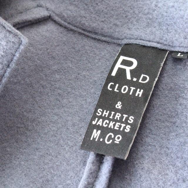R&D.M.Co- オールドマンズテーラー ウールフェルトニットジャケット