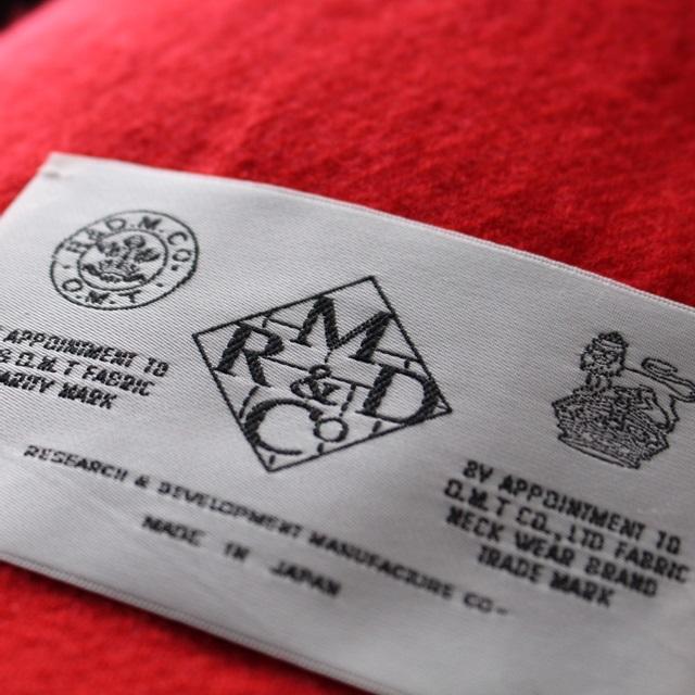R&D.M.Co- オールドマンズテーラー 無地ブランケット(全2色)