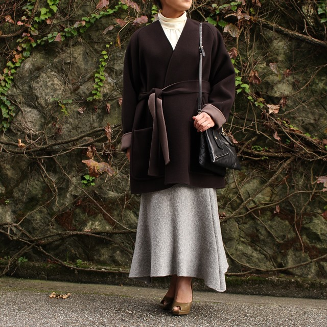 beautiful people ビューティフルピープル pile mosser liner short coat