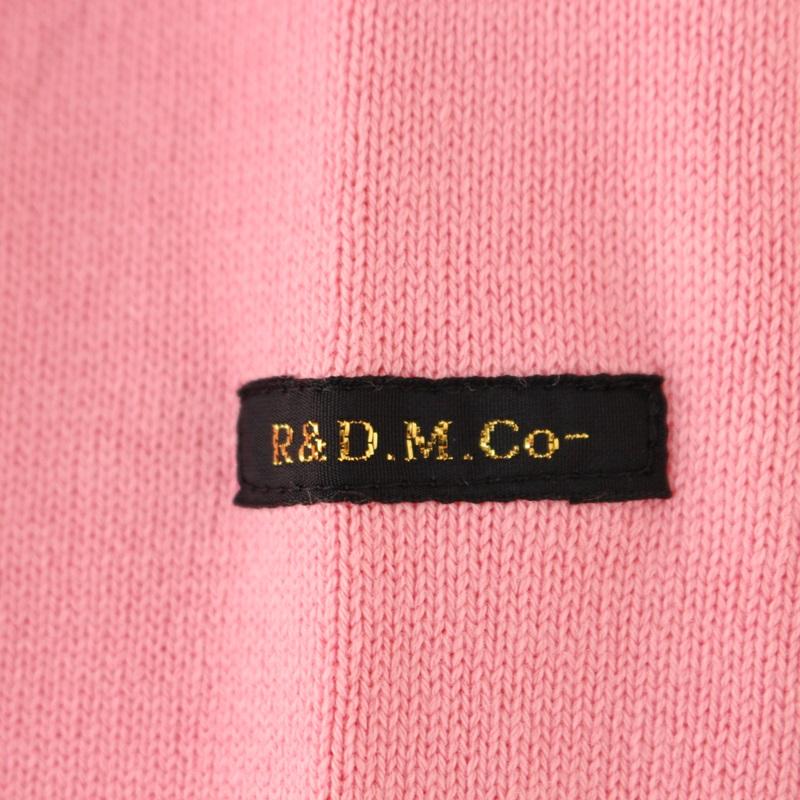 R&D.M.Co- オールドマンズテーラー KNIT SEW BASQUE シャツ