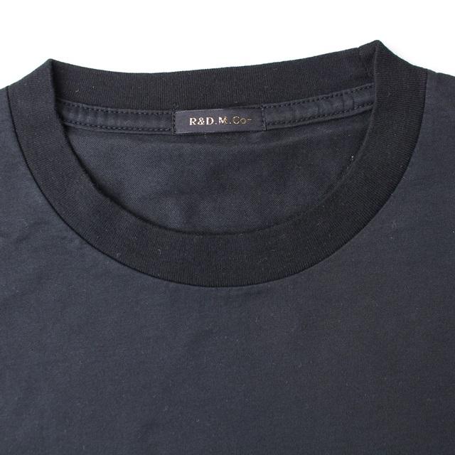 R&D.M.Co- オールドマンズテーラー ハイガーゼTシャツ (ブラック)