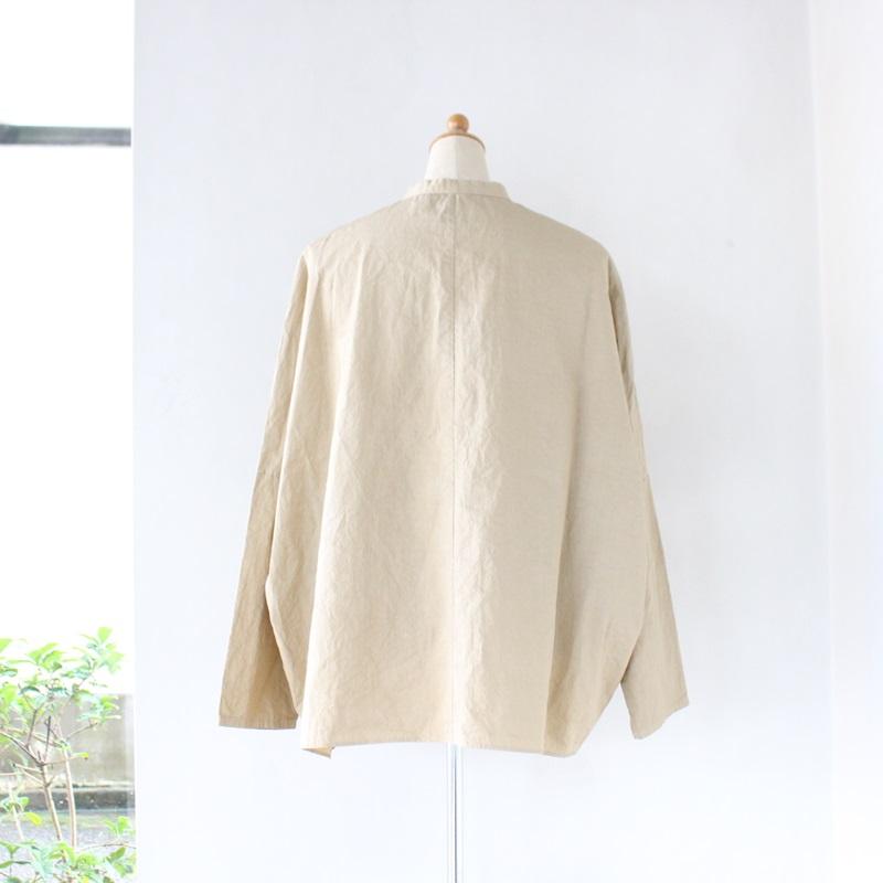 R&D.M.Co- オールドマンズテーラー ガーメントダイバギーシャツ