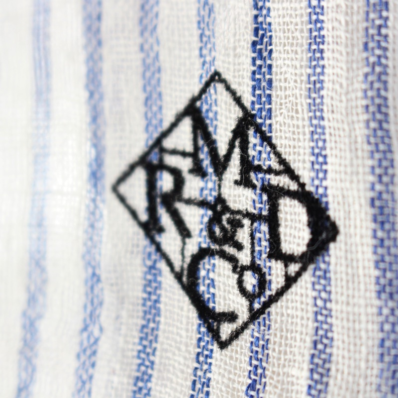 R&D.M.Co- オールドマンズテーラー リネンストール (ストライプ)
