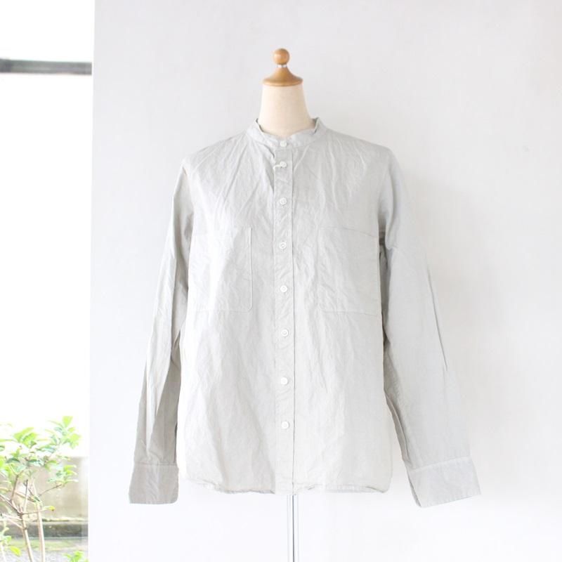 R&D.M.Co- オールドマンズテーラー ガーメントダイバンドカラーシャツ
