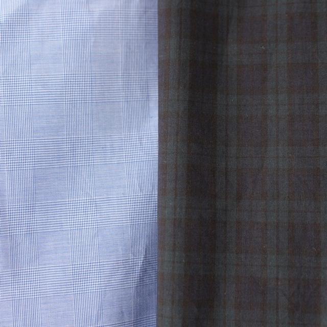 R&D.M.Co- オールドマンズテーラー 先染めチェックゴムパンツ(全2色)
