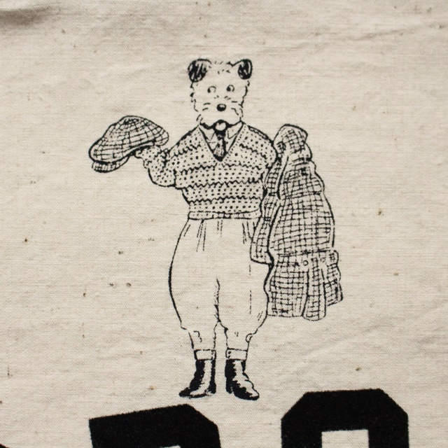 R&D.M.Co- オールドマンズテーラー B.Sプリントトートバッグ